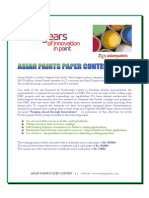 Asian Paints Paper Contest 2013_Invite