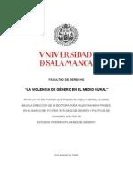 La Violencia de Género en El Medio Rural PDF