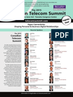 The 2015 Canadian Telecom Summit