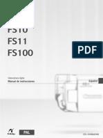 Manual camara canon FS10