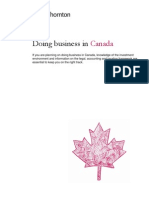 Doing Business in Canada_2010