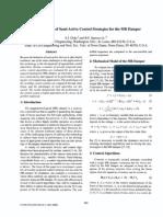 1997 - A Comparison of Semi-Active Control Strategies for the MR Damper