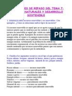ACTIVIDADES REPASO 7