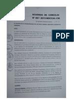Acuerdo Municipal N° 7