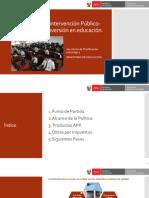 Presentacion Estrategia de Inversion Privada APP-OxI MINEDU