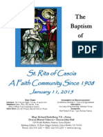 Saint Rita Parish Bulletin 1/11/2015