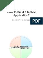 Decision Framework - Mobile1