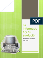 La Informática y Su Evolución