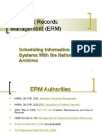 Electronic Records Management (ERM)