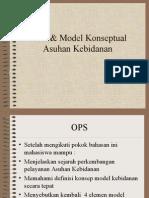 Teori & Model Konseptual Asuhan Kebidanan