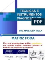 Tecnicas e Instrumentos Diagnosticos