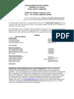 Public Safety Committee Agenda Jan 20 2015