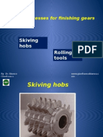 Special Processes for Finishing Gears