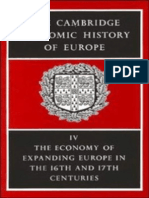 The Cambridge Economic History of Europe Vol 4 the Economy of Expanding Europe in the 16th and 17th Centuries
