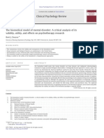 The Biomedical Model of Mental Disorder a Critical Analysis of Its Validity Utility and Effects on Psychoterapy Research