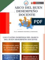 Marco Del Buen Desempeño Docente - 2