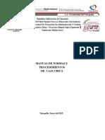 Manual de Normas y Procedimientos -Caja Chica