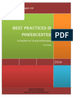 Checklist for Best Practices in Powercenter