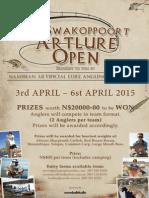 Swakoppoort Artlure Open 2015