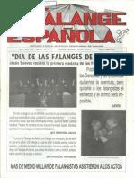 Falange Española nº 11. Abril 1989.