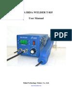 BGA T-835 User Manual
