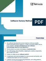 Resumen de Metodología de Software Factory