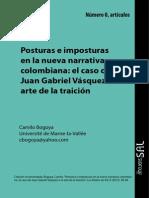 Posturas e Imposturas en La Novela Colombiana