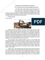 PORTER'S FIVE FORCES ANALYSIS OF CEMENT, CONSTRUCTION, AND AUTOMOBILE INDUSTRY