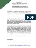 Modelo Federal de Gobierno en Venezuela y La Transferencia de Competencias Al Poder Público