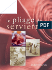 Didier Boursin - Le Pliage de Serviettes