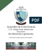 Acuerdos de Convivencia 2014-2015