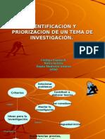 Identificación y Priorizacion de Un Tema de Investigación