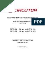 MPC-20 MPC-50 Indirect Earth Simulator Manual