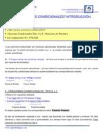 21.- Oraciones_ Condicionales_ 1ª_ Parte
