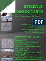 Wi Fi Rio Seco