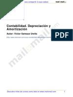 Contabilidad Depreciacion Amortizacion 25359