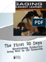 fisher first 20 days focus on student collaboration