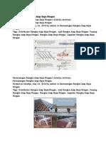 Pemasangan Rangka Atap Baja Ringan