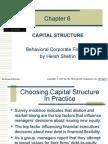 corporate behavioural finance Chap06
