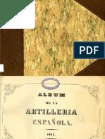 Album de La Artillería Española 1862