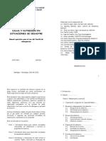 Manual Operativo -Salud y Nutricion en Desastres