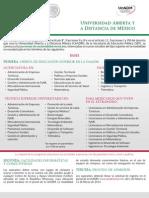 Convocatoria Semestre 2015-2