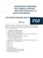 Question Bank of Network Analysis and Synthesis UNIT-1 and UNIT-2
