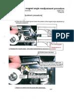 Modification Bh750 black copy toner spilage