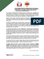 Nota de Prensa Diálogo Ciudadano Nacional