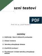 3 - PDS Dokazni Testovi
