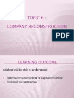 Topic6 Companyreconstruction