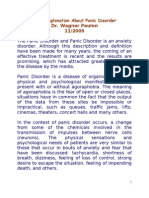 0009 Brief Explanation About Panic Disorder