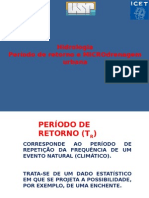 Drenagem e Periodo de Retorno(1)