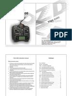Manual emisora T7AH-2400